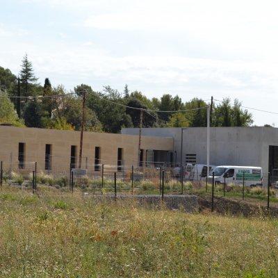 Construction des bâtiments du siège de la Communauté de communes Ventoux Sud - Villes- sur-Auzon