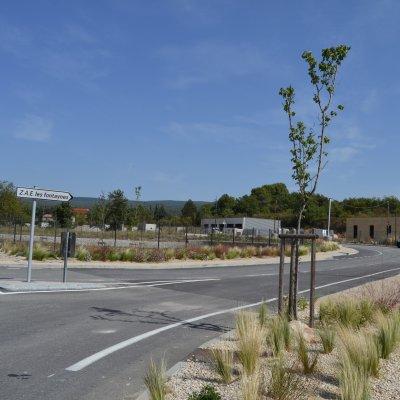 Parc d'activité des Fontaynes - Villes-sur-Auzon